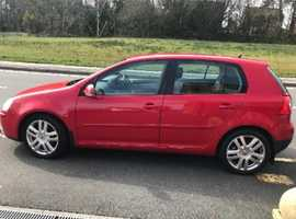 Volkswagen Golf, 2006 (56) Red Hatchback, Manual Diesel, 100 miles