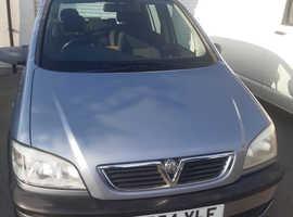 Vauxhall Zafira, 2004 (54) Silver MPV, Automatic Petrol, 71,710 miles