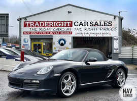 2007/07 Porsche Boxster S 3.4 [987] Automatic finished in Atlas Grey Metallic.   30568 miles