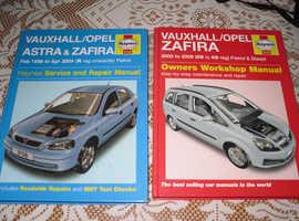 pair haynes car workshop manuals