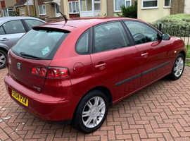 Seat Ibiza, 2004 (04) Red Hatchback, Manual Petrol, 89,232 miles
