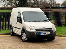 2006 (56) FORD TRANSIT CONNECT T230 LWB High Roof 1.8 DIESEL 5 Dr in WHITE, NEW MOT