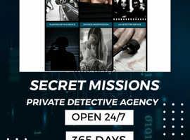 SECRET MISSION PRIVATE DETECTIVE AGENCY