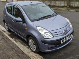 Nissan Pixo, 2010 (59) Grey Hatchback, Manual Petrol, 87,847 miles