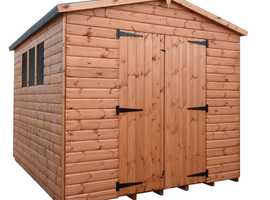 DEAL OF THE WEEK ** 10X10 DELUXE APEX SHED **