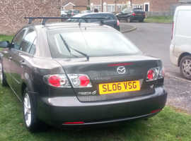 Mazda MAZDA 6, 2006 (06) Grey Hatchback, Manual Petrol, 54,000 miles