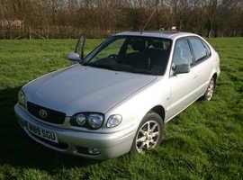 Toyota Corolla, 2000 (W) Silver Hatchback, Manual Petrol, 97,000 miles