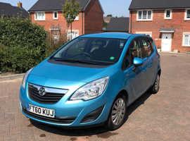 Vauxhall Meriva, 2011 (60) blue mpv, Automatic Diesel, 92000 miles