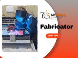 Job Vacancy - Fabricator