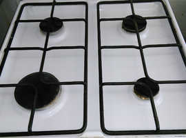 Classic gas cooker with high  level grill , still in very good condition.
