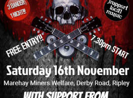Charity event in aid of Macmillan & Cancer research UK in Ripley, Derbyshire - FREE ENTRY!