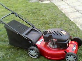 "A mtd self drive 18"" rotary lawnmower"