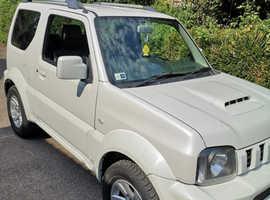 Suzuki Jimny, 2014 (14) White Estate, Manual Petrol, 108,000 miles