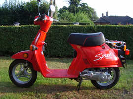 "HONDA SCOOTER / NQ50 ""Spree"" CLASSIC VINTAGE SCOOTER"
