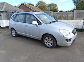 Kia Carens, 2006 (56) Silver MPV, Manual Diesel, 163,018 miles
