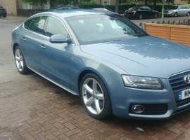 Audi A5, 2011 (11) Blue Hatchback, Manual Diesel, 102,000 miles