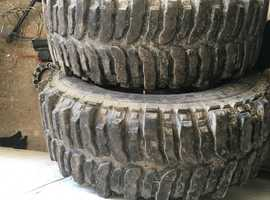 16inch truck alloys with mud tyres