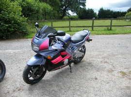 CBR600 F2, fast bike