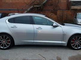 Jaguar Xf, 2010 (10) Silver Saloon, Automatic Diesel, 163,000 miles