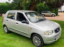 Suzuki Alto, 2005 (55) Silver Hatchback, Manual Petrol, 58,000 miles