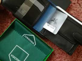 Men's Visconti Italian leather wallet.