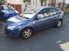 Ford Focus, 2005 (05) Blue Hatchback, Manual Diesel, 115,626 miles
