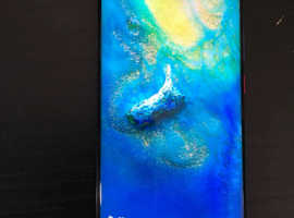 HUAWEI MATE 20 PRO 128GB - BLUE O2 EXCELLENT CONDITION