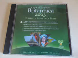 Encyclopaedia Britannica 2003 CD Rom Windows Ultimate Reference Software