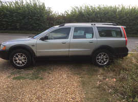 Volvo Xc70, 2005 (05) Silver Estate, Automatic Diesel, 187,000 miles