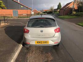 Seat Ibiza, 2012 (12) Silver Hatchback, Manual Diesel, 105,000 miles