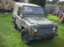 Military Land Rover 90 Soft Top DEPOSIT TAKEN