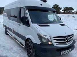 Mercedes camper/race van