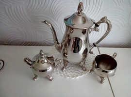 Grade A1  Silver Plated Teapot  Set