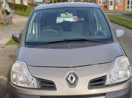 Renault Modus, 2008 (58) CAT C, Beige Hatchback, Manual Petrol, 55,398 miles