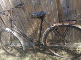 1940`s Ladies Bicycle for a Complete Restoration Project