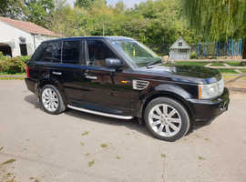 Land Rover Range Rover Sport, 2006 (56) Black Estate, Automatic Diesel, 153,000 miles