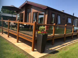 ABI 2018 Harrogate Luxury Lodge 40 x 20 2 bedroom 2 bathroom  Malvern View Country Park WR6 5UB