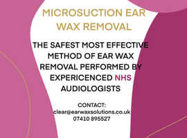 Micro-Suction Ear Wax Removal