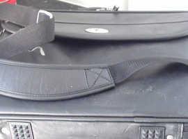 Leather lap top case