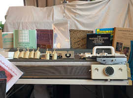 Silver Reed SK280 knitting Machine with punch cards