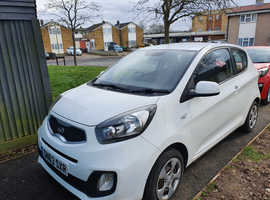 Kia Picanto, 2013 (63) White Hatchback, Manual Petrol, 24,000 miles