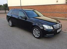 Mercedes C220, 2012 (62), Manual Diesel, 135,000 miles