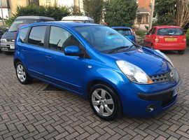Nissan Note, 2006 (06) Blue MPV, Manual Petrol, 79,375 miles