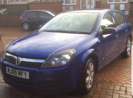 Vauxhall Astra, 2005 (05) Blue Hatchback, Manual Petrol, 114,000 miles