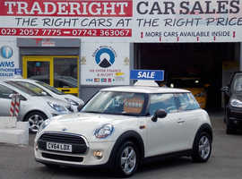 Mini MINI, 2014 (64) White Hatchback, Manual Petrol, 31,981 miles