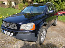 Volvo Xc90 EXECUTIVE 2005 (05) Blue Estate, Semi auto Diesel, 206,735 miles