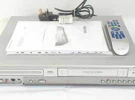 Philips DVDR3320V VCR VHS Recorder DVD Recorder Video Cassette Recorder VHS-DVD