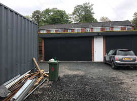 Sudden Rochdale secure brick garage