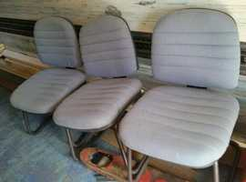 OFFICE CHAIRS 3 OFF SUIT WAITING ROOM MAN CAVE ETC FREE TO COLLECTOR SUTTON BHAM