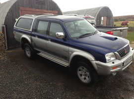 MITSUBISHI L200 ANIMAL 4X4 TRUCK  BREAKING ALL PARTS AVAILABLE